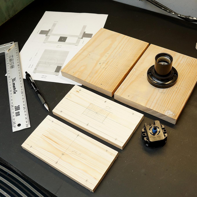Процесс изготовления лампы