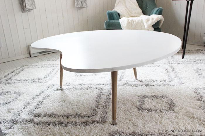 Как сделать стильный кофейный столик своими руками