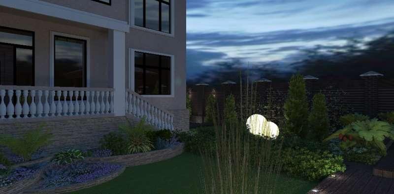 Идея ландшафтного дизайна. Сад всовременном стиле