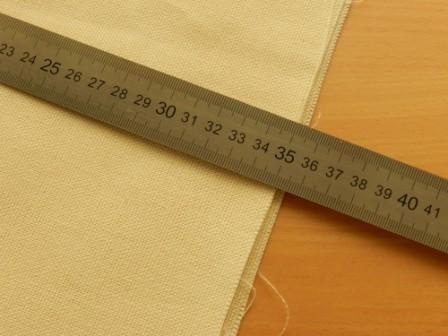 замер ткани для авоськи фото