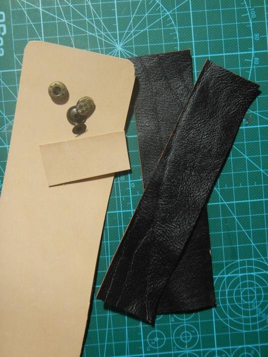 Детали поясной сумочки