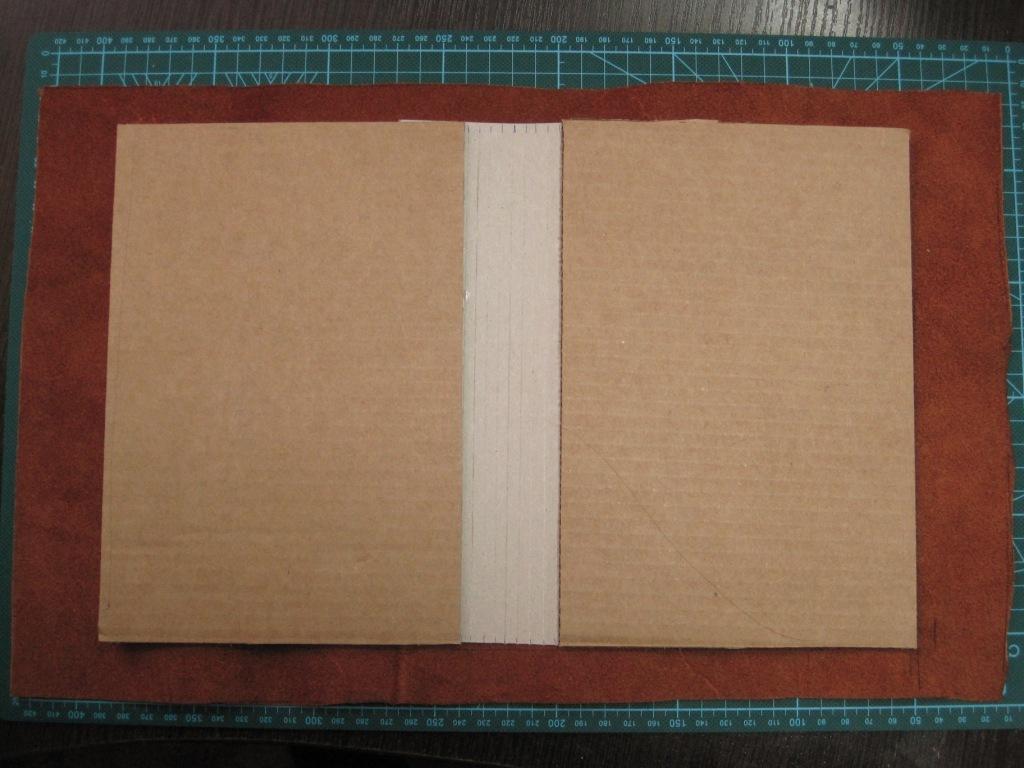 Обложка для блокнота изготовление