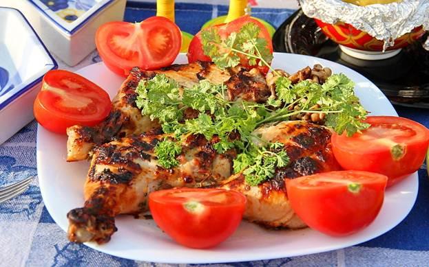 Блюда из куриных голов рецепт