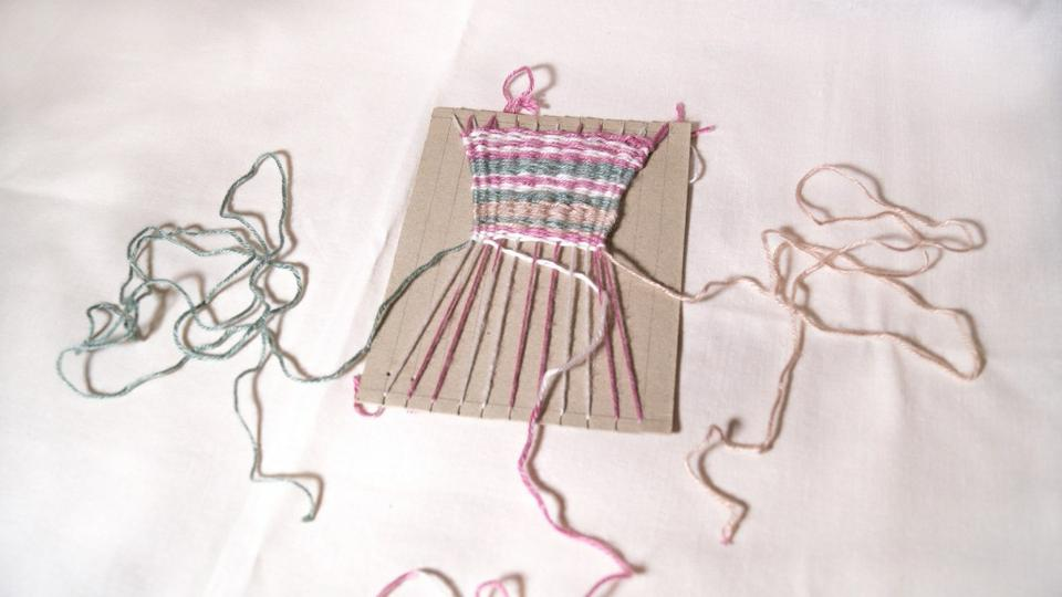 Приемы ткачества