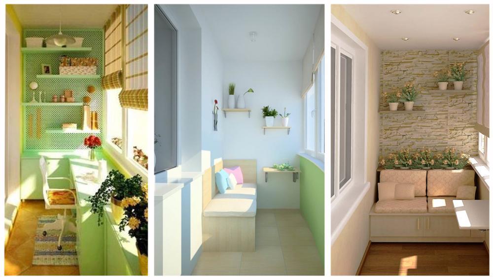 Идеи дизайна балкона