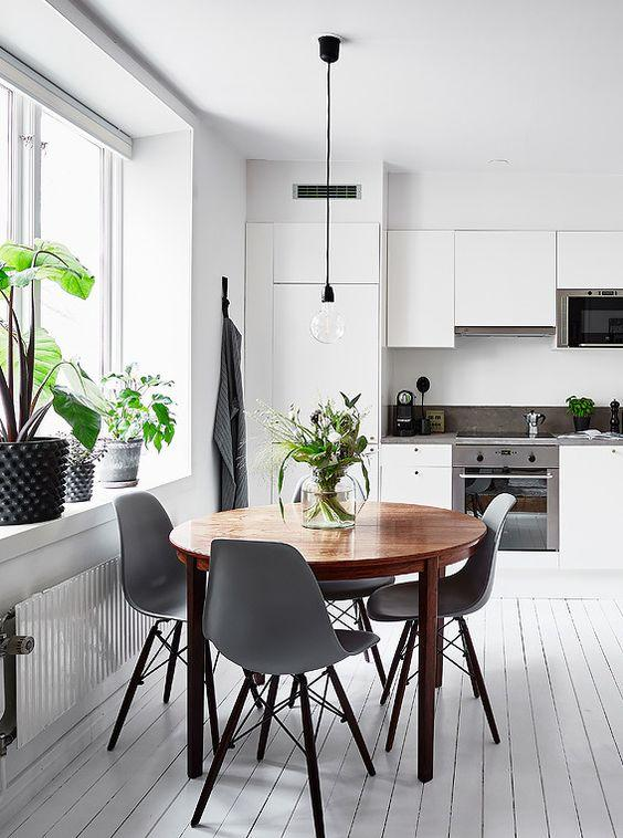Scandinavian interior kitchen
