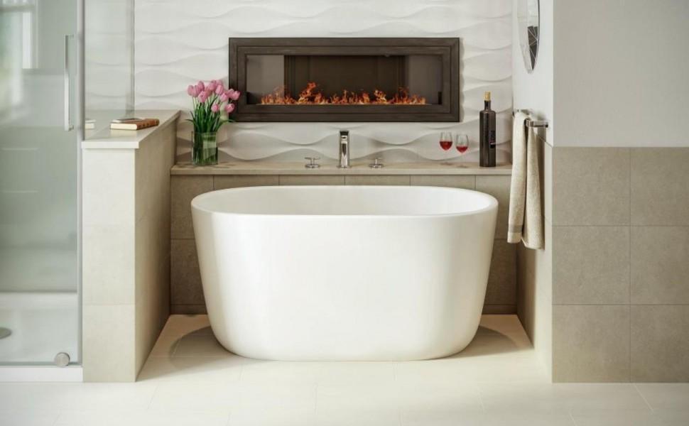 как выбрать цвет плитки для ванной комнаты бежевой