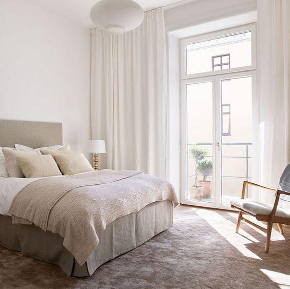 Scandinavian interior bedroom