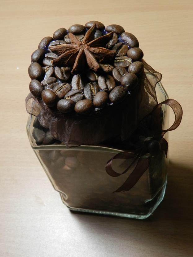 Баночку для кофе своими руками