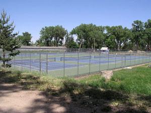 Площадка для строительства теннисного корта