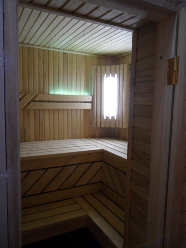 внутренняя отделка бани изображение