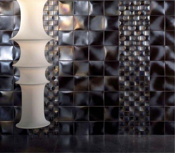 Объемная керамическая плитка