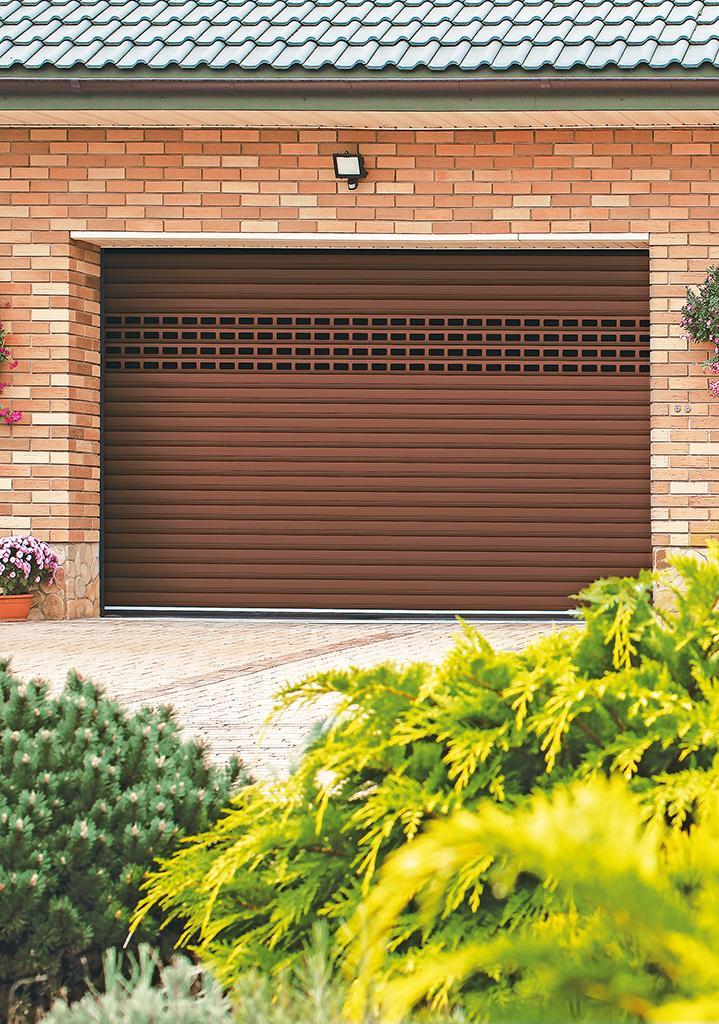 6причин выбрать для гаража роллетные ворота