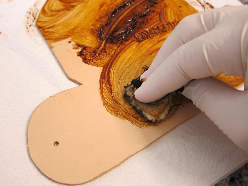 Окрашивание кожи