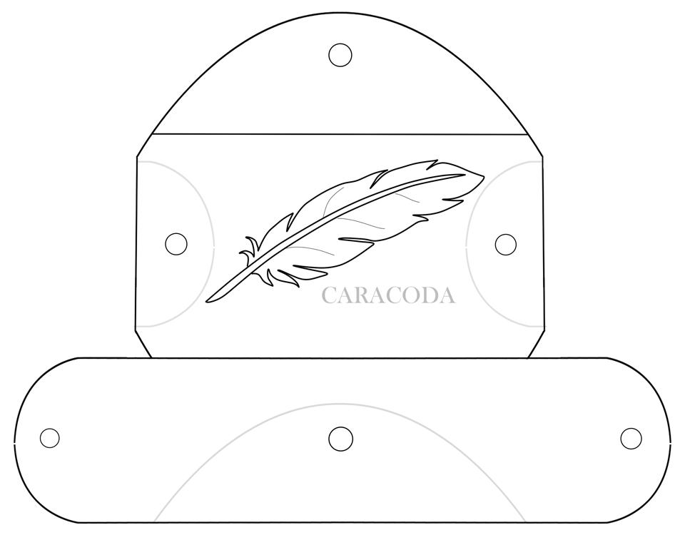 Выкройка очешника