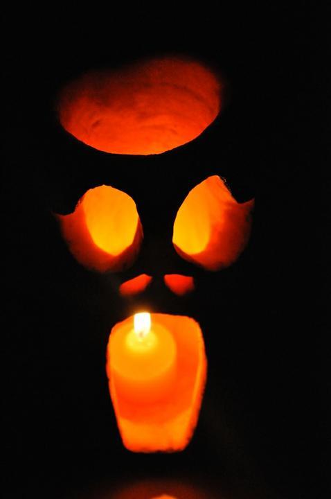 Светильник ля Хэллоуина