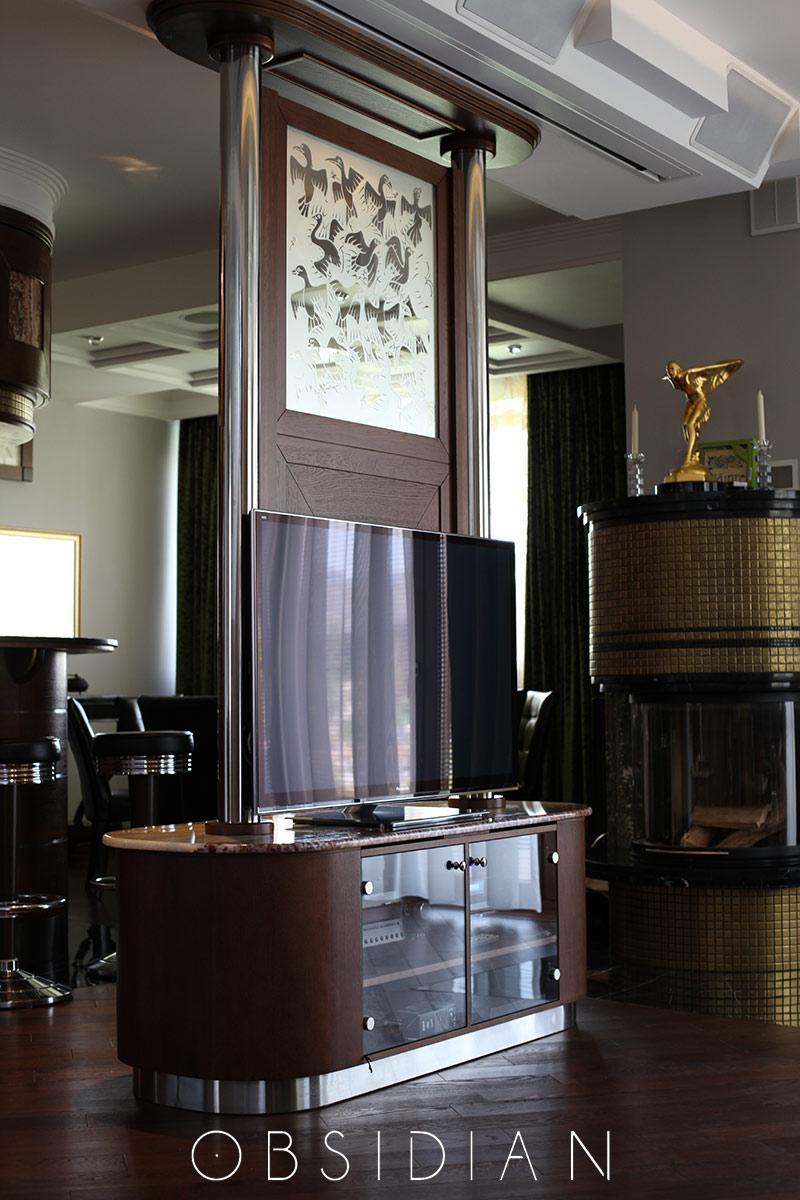 Витражи в мебели