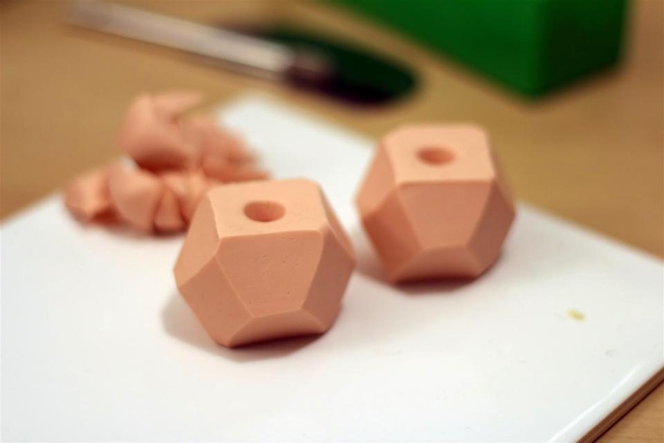 Многогранники из глины