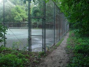 Cтроительство теннисного корта