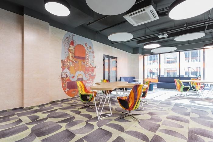 5креативных офисов 2017 года