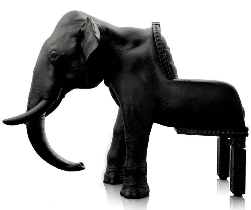 Кресло в виде слона