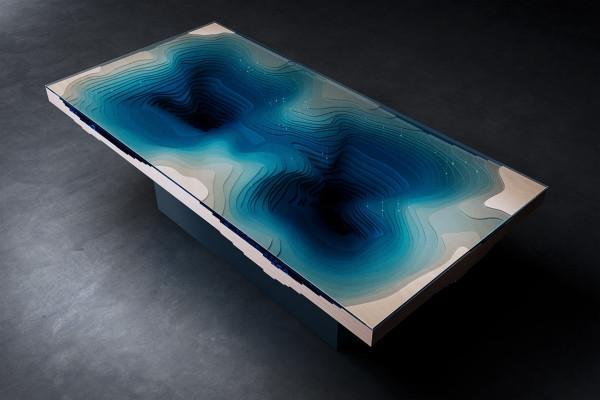 Дизайнерский столик, который заставит вас затаить дыхание
