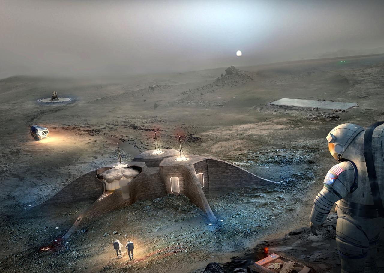 Станция на Марсе