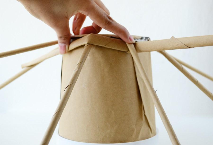 Бумажные кашпо своими руками