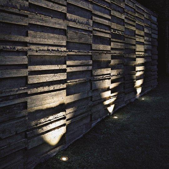 Встроенные в грунт светильники