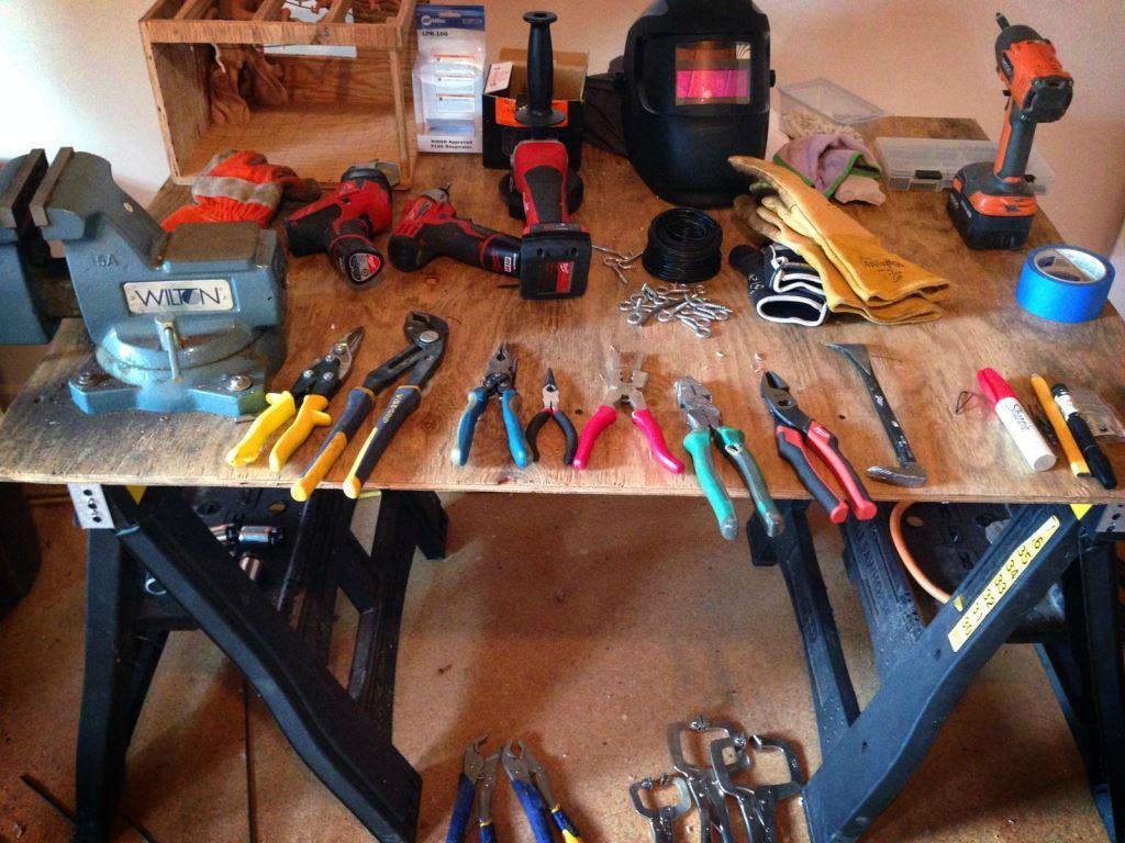 Рабочее место и инструменты