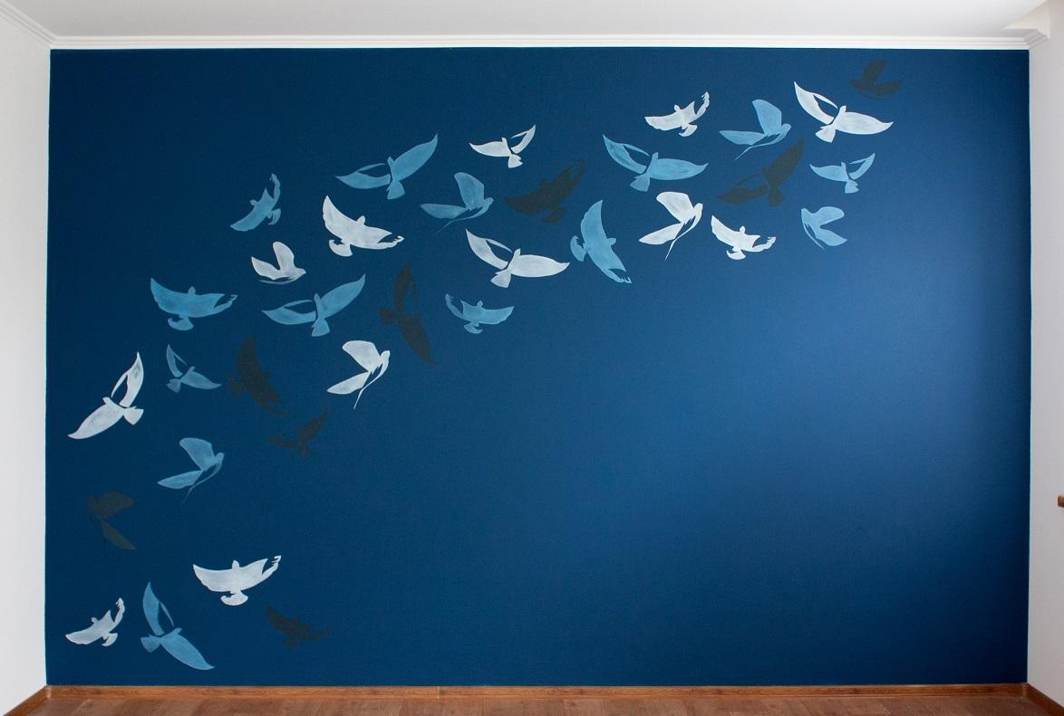 Трафареты для дизайна стен своими руками 72