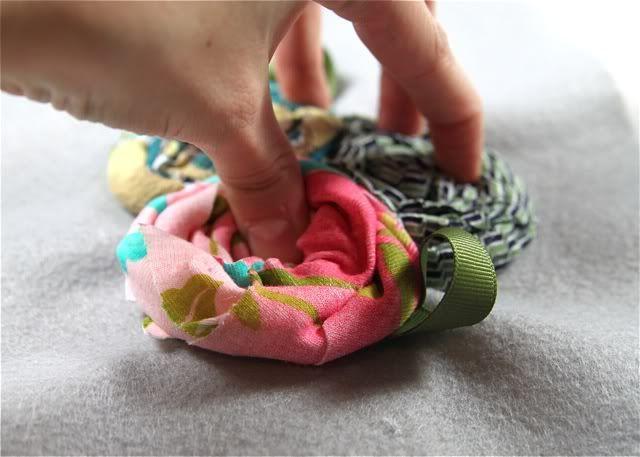 Как сделать обруч своими руками с цветами