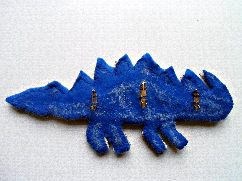 Декоративный динозавр