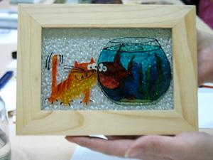 рисунки витражными красками