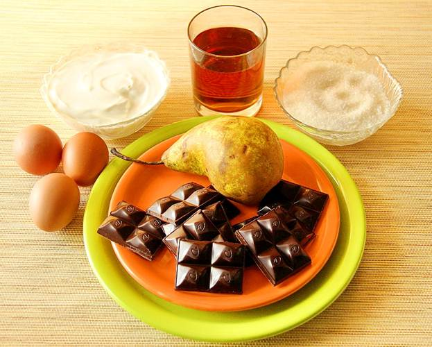 Ингредиенты дл шоколадного мусса