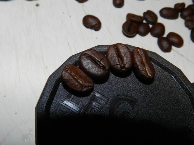 Декорирование кофейными зернами