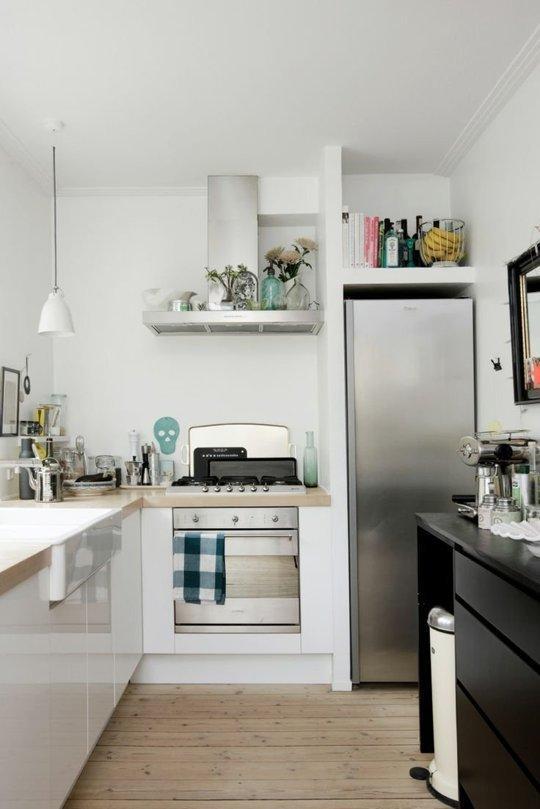 4идеи для маленькой кухни, укоторых есть чему поучиться