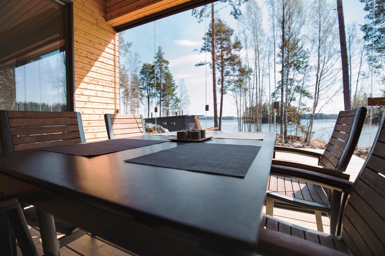 Финская терраса Lumon