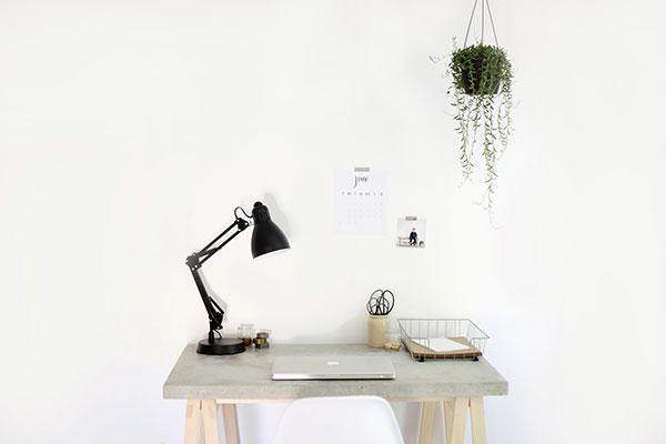 Как сделать стол сбетонной столешницей. Часть2