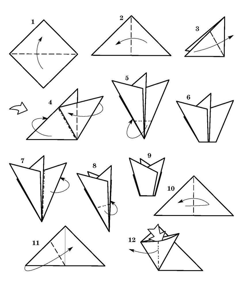 Колокольчики из бумаги