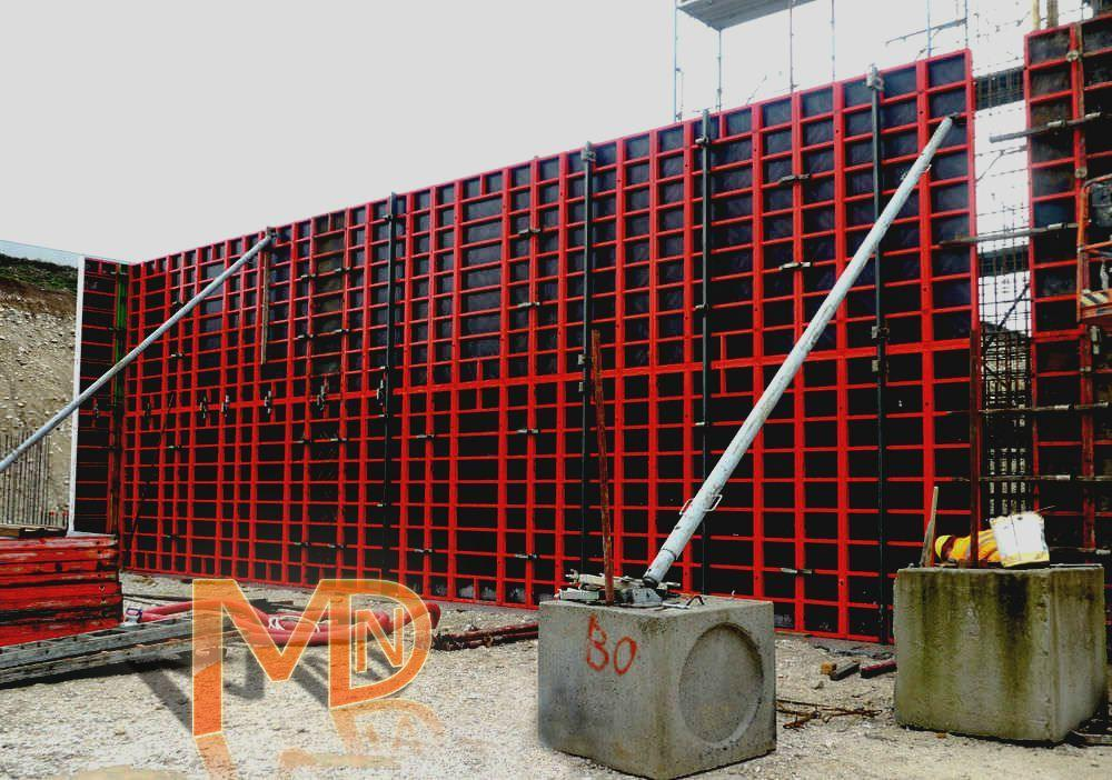 Конструкция стеновой опалубки