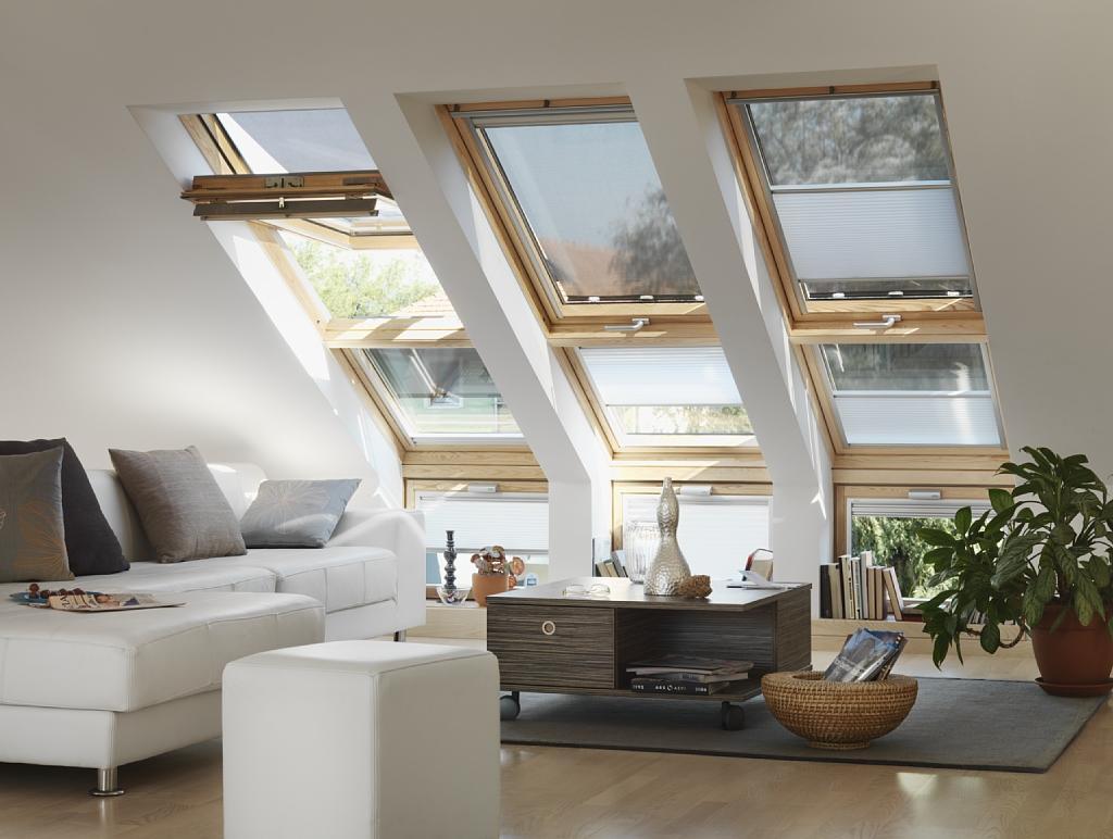 Мансардные окна откомпании Элит Хаус: стильно, уютно, модно