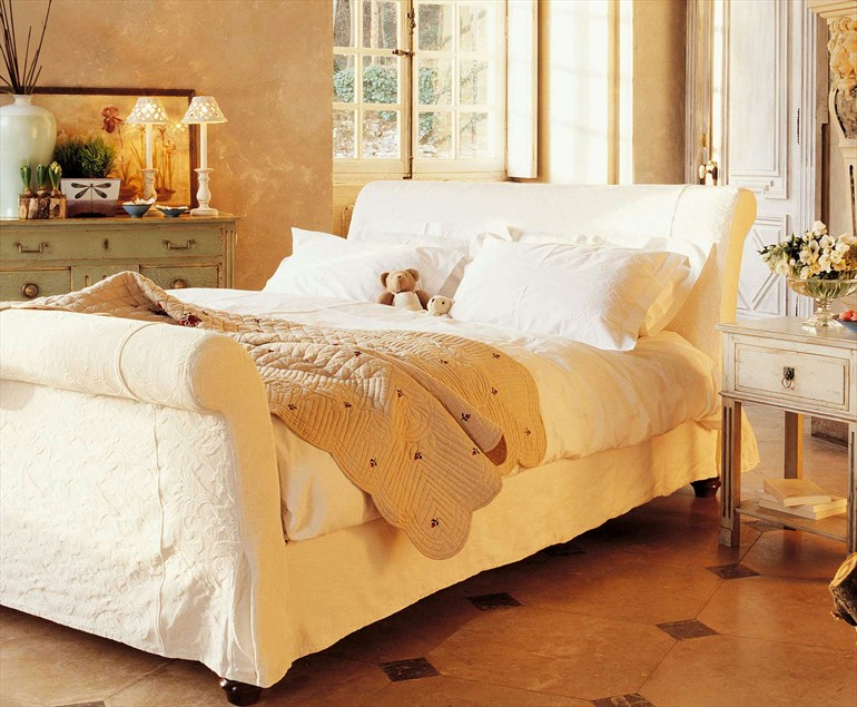 Спальня в стилистике прованса