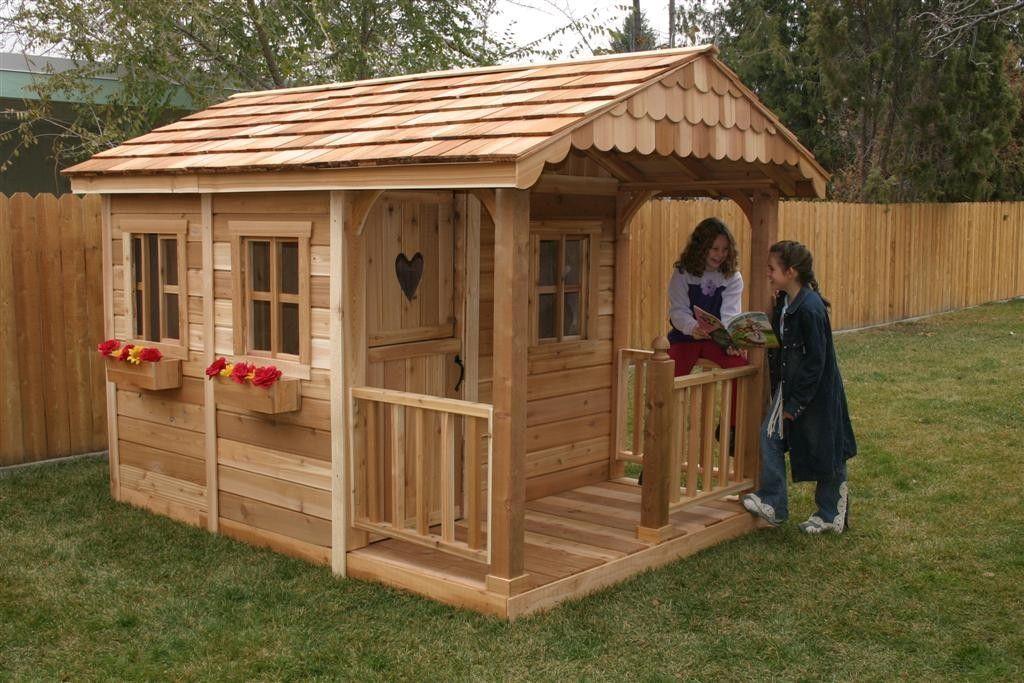 Как построить дом для детей из дерева своими руками