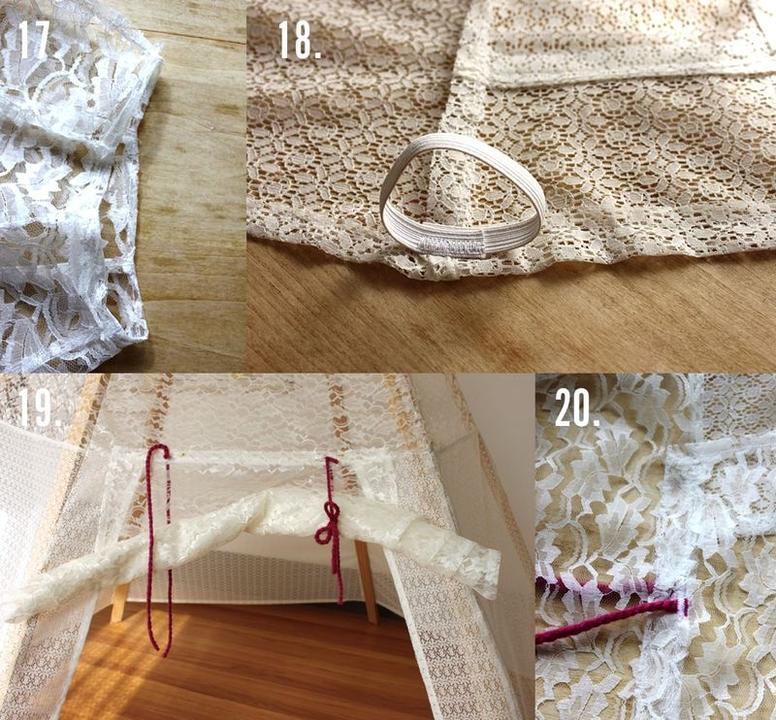 Как сделать шалаш в домашних условиях для детей