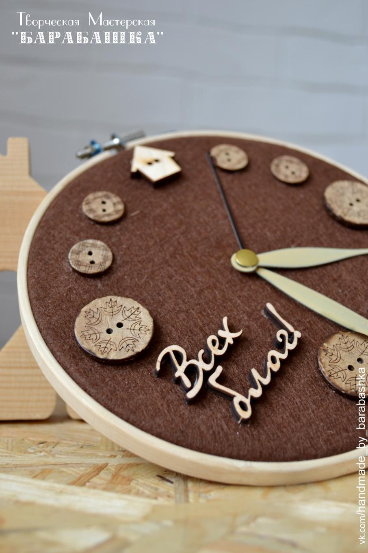 Часы своими руками : создаем из подручных материалов 94
