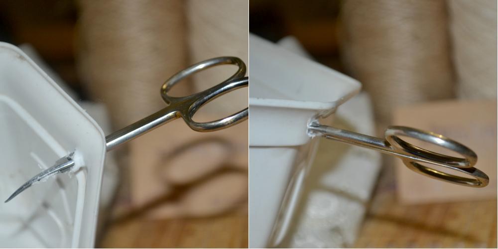 Изготовление корзинки