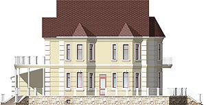 Готовый проект дома. Фасад