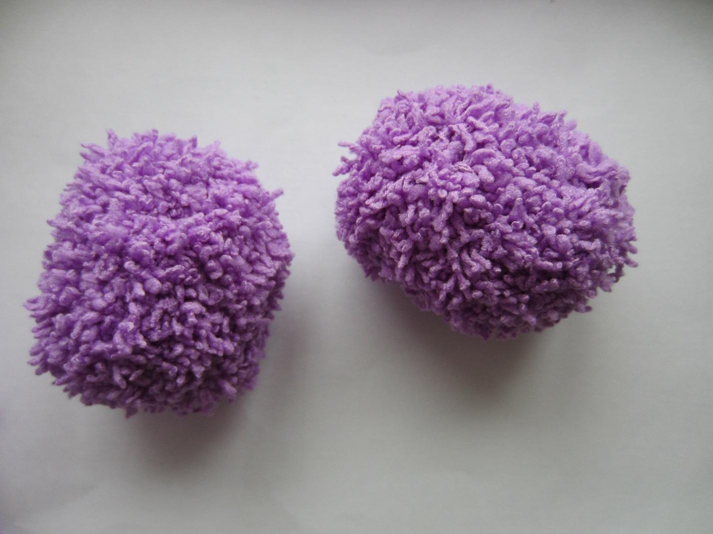 Вязаные шарики