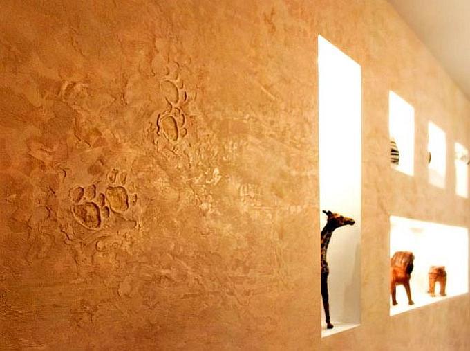 Декоративная штукатурка: вдохновляющие фото винтерьере иосновное онанесении иуходе